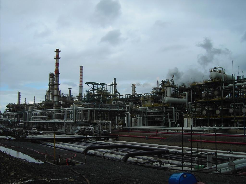 condotte degli stabilimenti di raffinazione sarroch