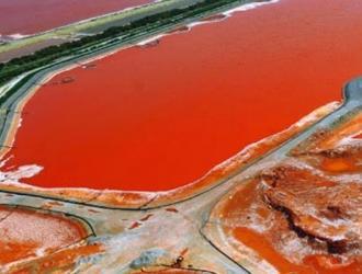 bacino fanghi rossi portovesme
