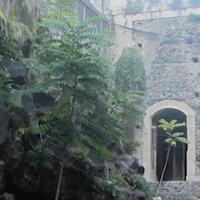 Colata Lavica Monastero dei Benedettini Catania