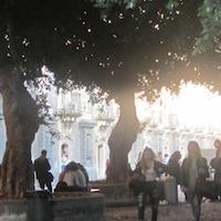 Cortile Principale Monastero dei Benedettini Catania